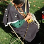 Native American demonstration