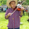Young fiddler