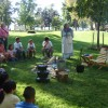 Teaching about Pioneer Cooking